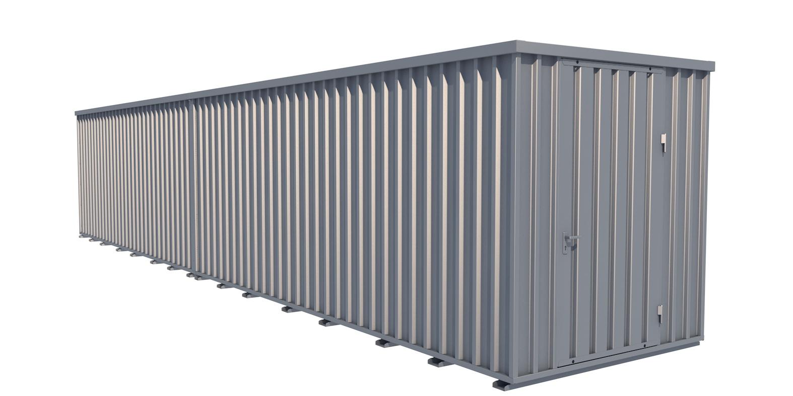 Reifencontainer / Reifenlagercontainer 40 Fuß mit Räderlager