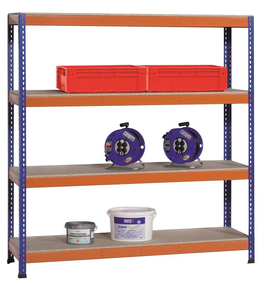 Weitspannregal / Industrieregal für schwere Belastungen bis 776 kg