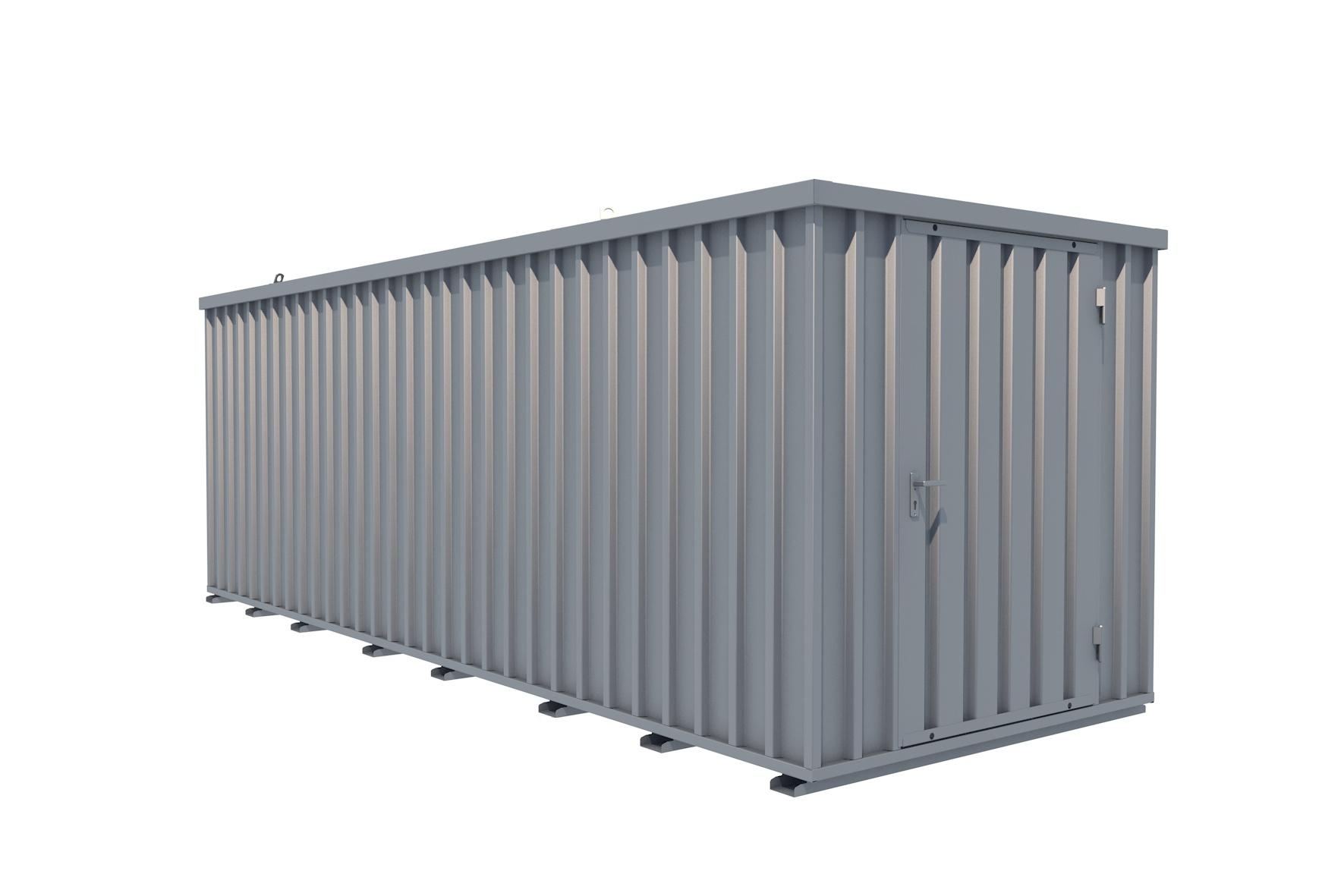 Reifencontainer / Reifenlagercontainer 20 Fuß mit Räderlager