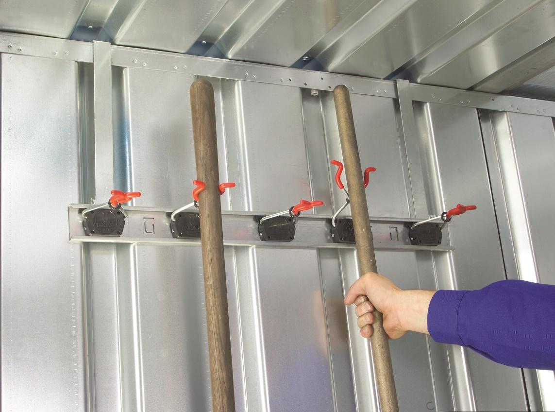 Geräteleiste für Schnellbaucontainer